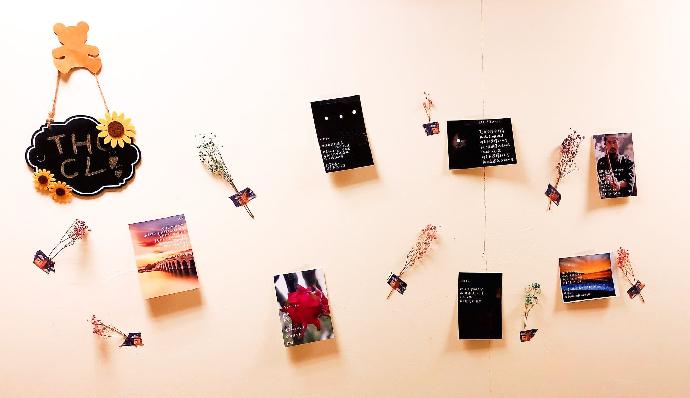 2020 中文系學會—明信片詩展《以詩取暖》